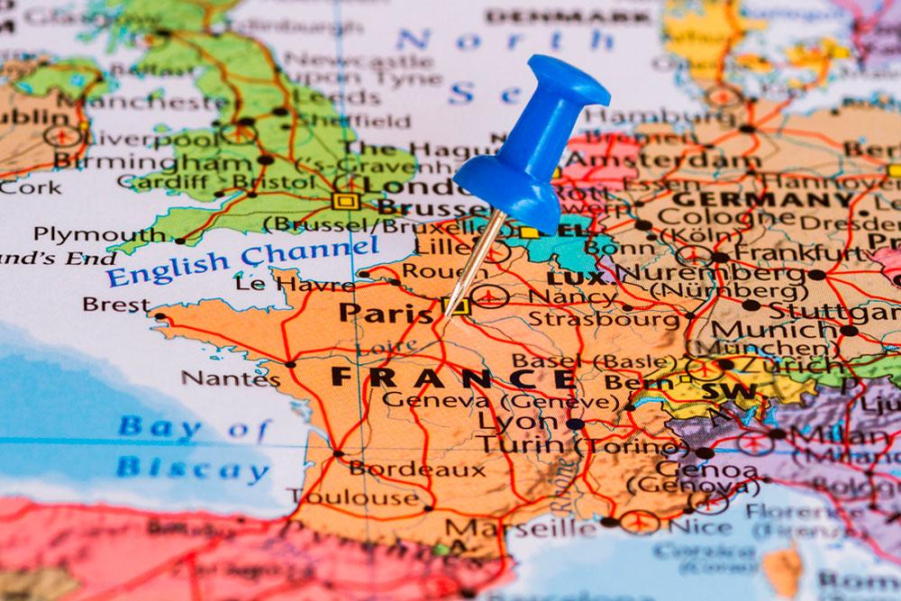 франция-на-карте мира