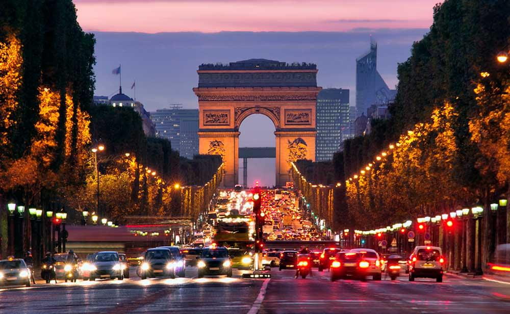 Красивые места франции