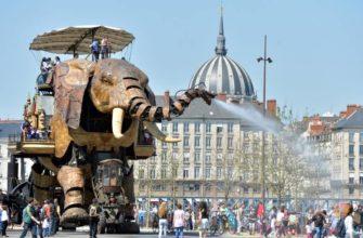 слон искусственный