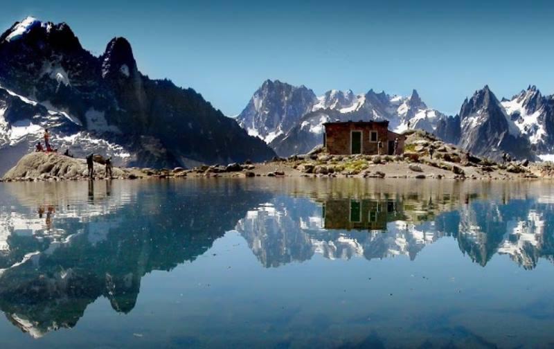 Крупный горнолыжный курорт